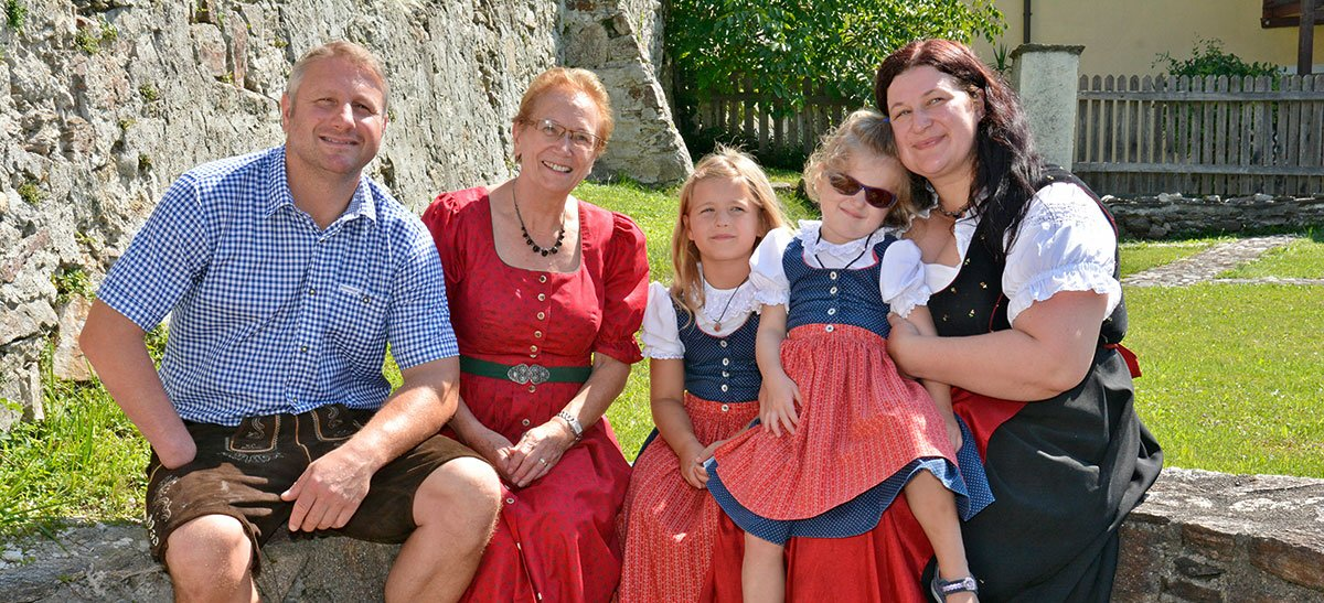 Familie Steinbrugger