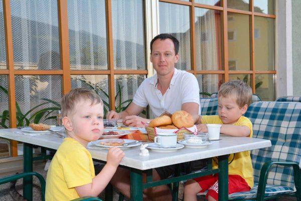 Frühstück im Gasthaus Steinbrugger Molzbichl