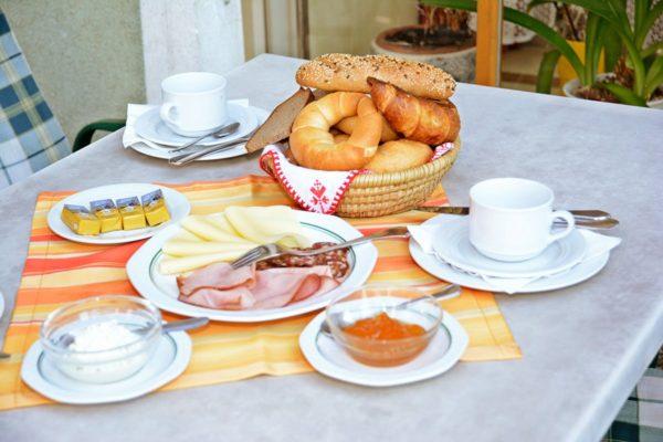Frühstück Gasthof Steinbrugger Molzbichl